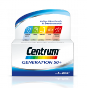 Centrum Tabletten A-zink Gen.50+al